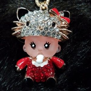 Betsey Johnson baby necklace